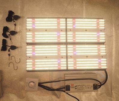 LED Grow Light - 480W Full Spectrum 301B with Red660nm, and UV395nm and IR730nm - HdGrowLights