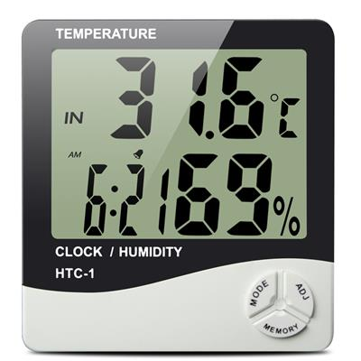 Digital Thermometer & Hygrometer - HdGrowLights